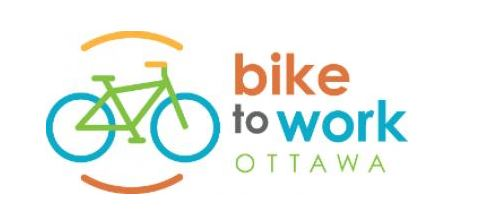 logo for bike to work ottawa campaign