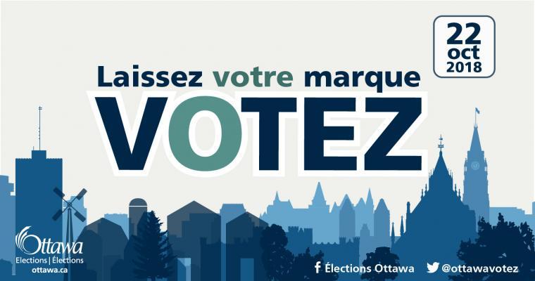 laissez votre marque, votez le 22 octobre