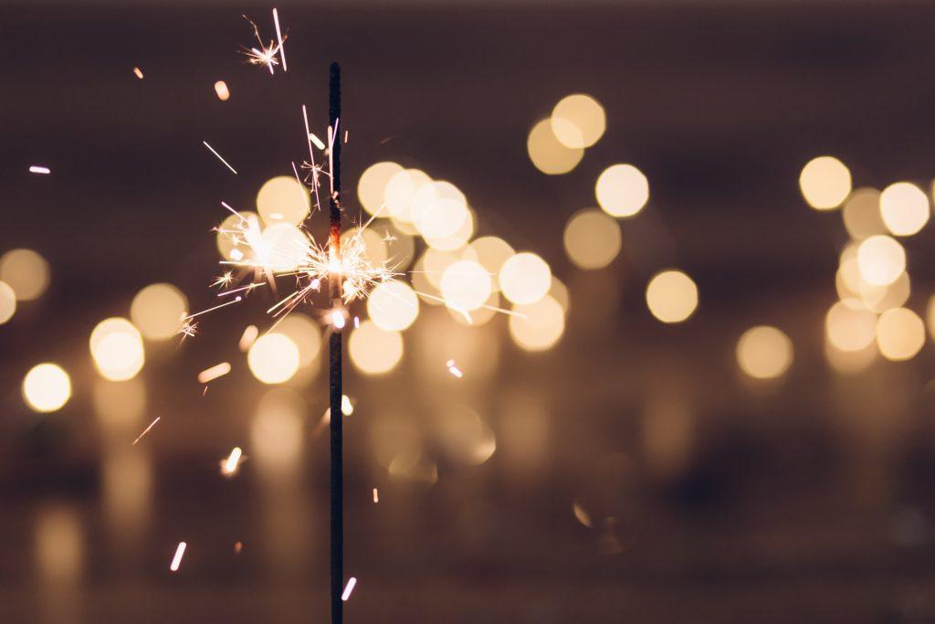 image of a sparkler