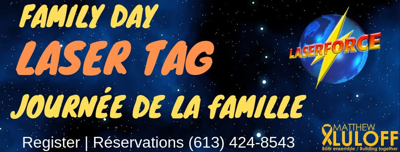Family Day Laser Tag with Matthew Luloff Image