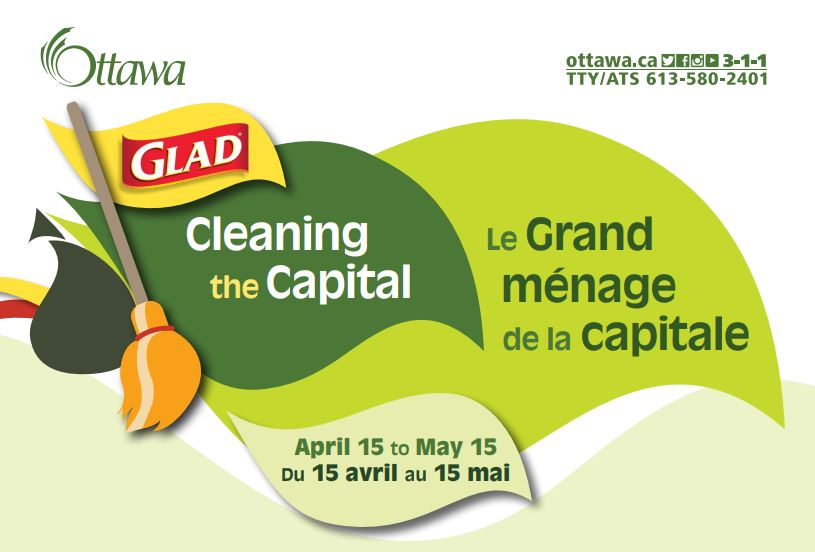 logo for Glad Cleaning the Capital