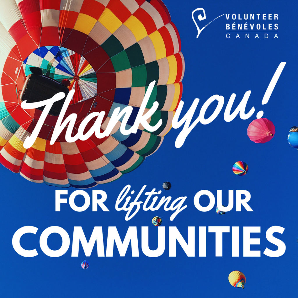 thank you for lifting our communities image with hot air balloons