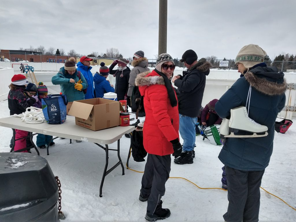 image of people at the 2020 winter carnival