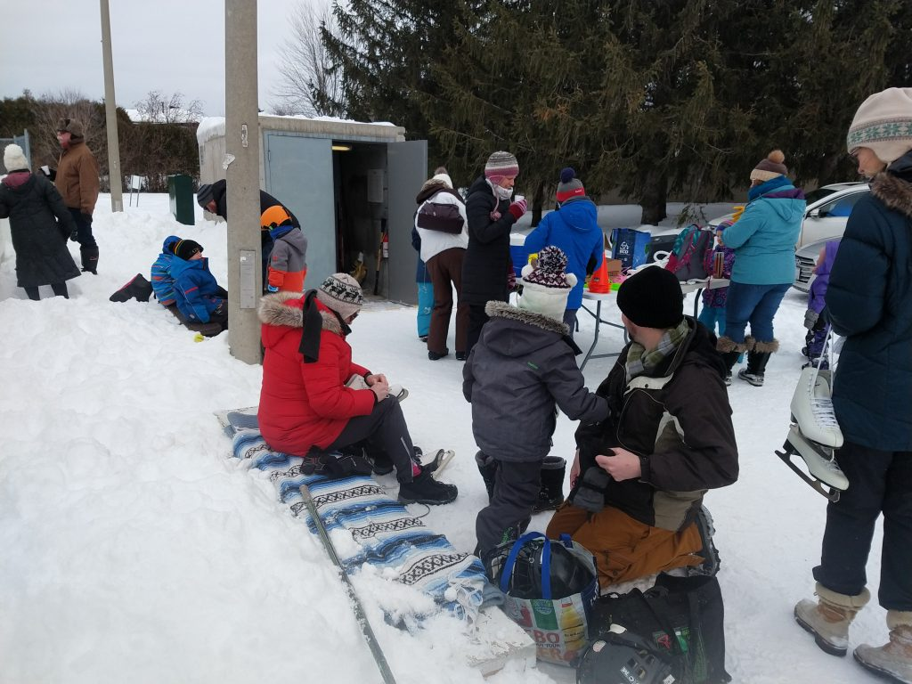 photo of people at the 2020 Winter Carnival
